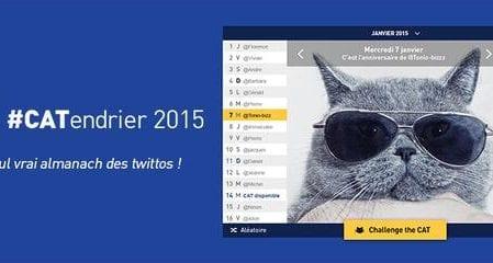 #CATendrier 2015 par La Poste : Le calendrier 2.0