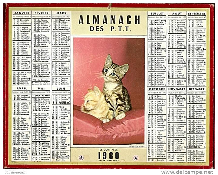 Almanach des P.T.T. 1960