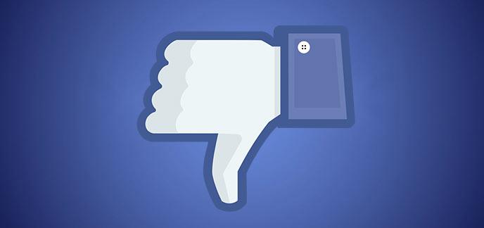 Je n'aime pas - parodie Like Facebook