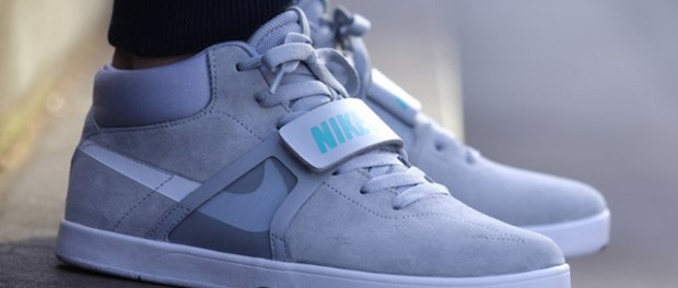 Nike Marty McFly en gros plan