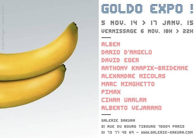Billet d'informations sur la Goldo Expo à Paris
