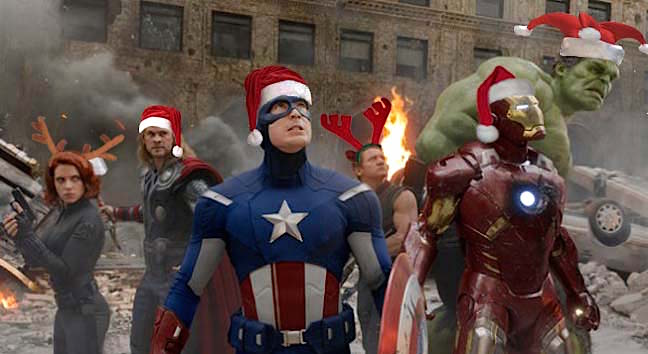 Les Avengers sont prêts à vous recevoir en chanson... de Noël !