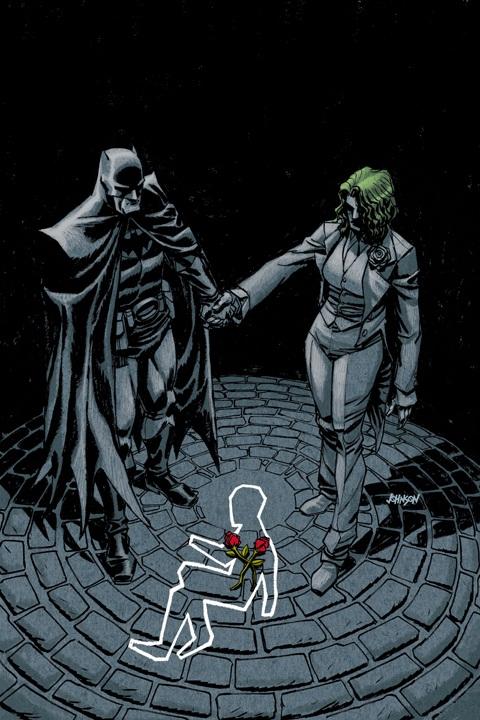 Les parents de Bruce Wayne, décédé dans l'allée, sont devenus Batman et le Joker